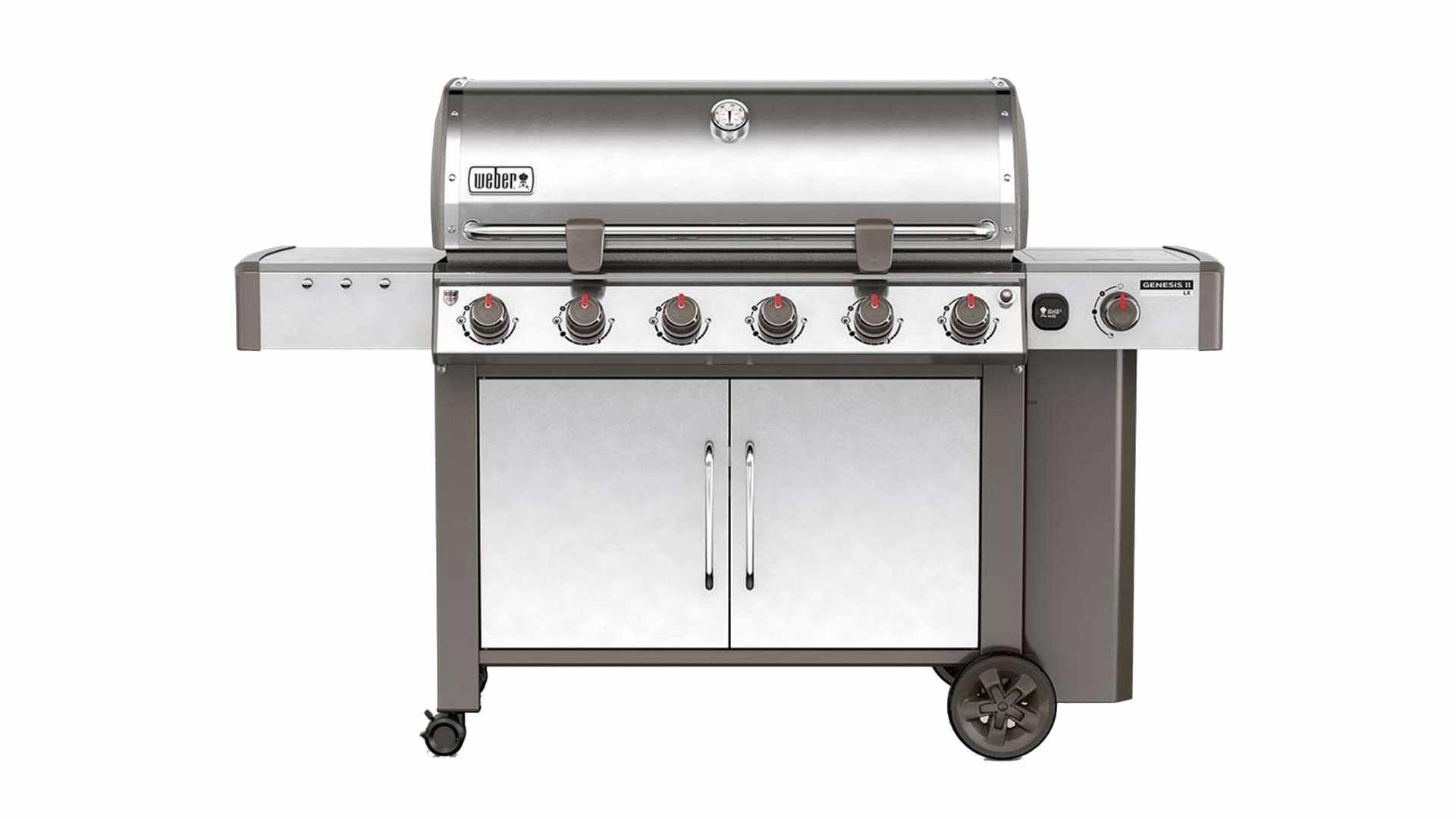 barbecue weber genesis 2 lx s 640 gbs gas grill inox brico ok corigliano. Black Bedroom Furniture Sets. Home Design Ideas
