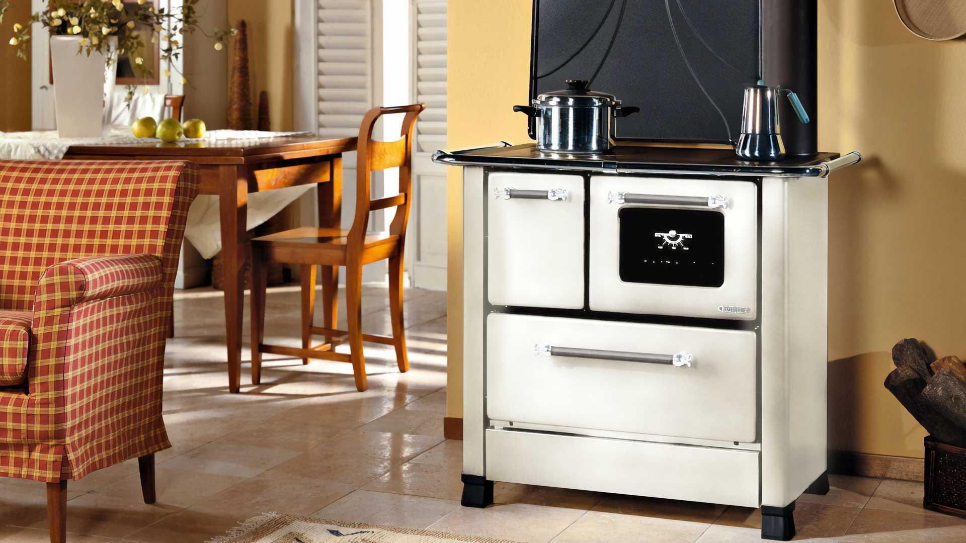 Cucina a legna Romantica - Reparto riscaldamento - Brico OK Corigliano