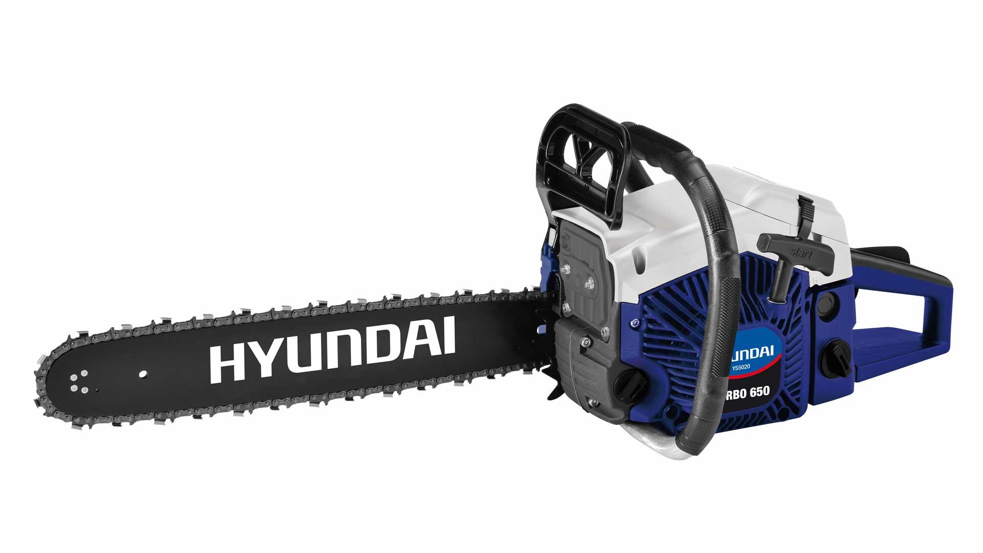 immagine in evidenza della pagina Motosega Hyundai turbo 650