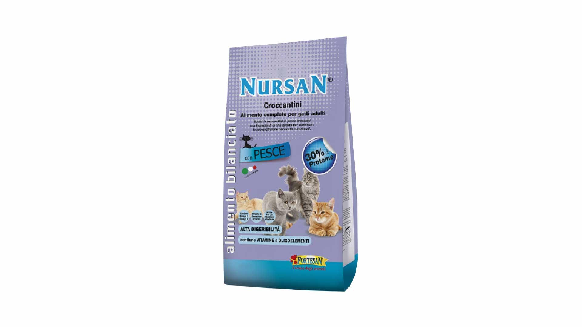 immagine in evidenza della pagina Nursan Cat Crocchette pollo
