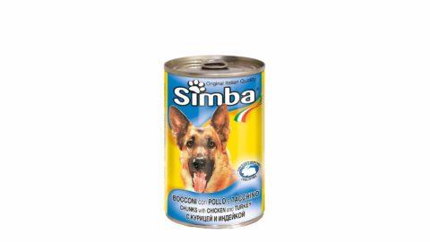 immagine del prodotto Bocconi con pollo e tacchino simba