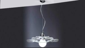 lampadario sospensione jolly diametro 50 centimetri