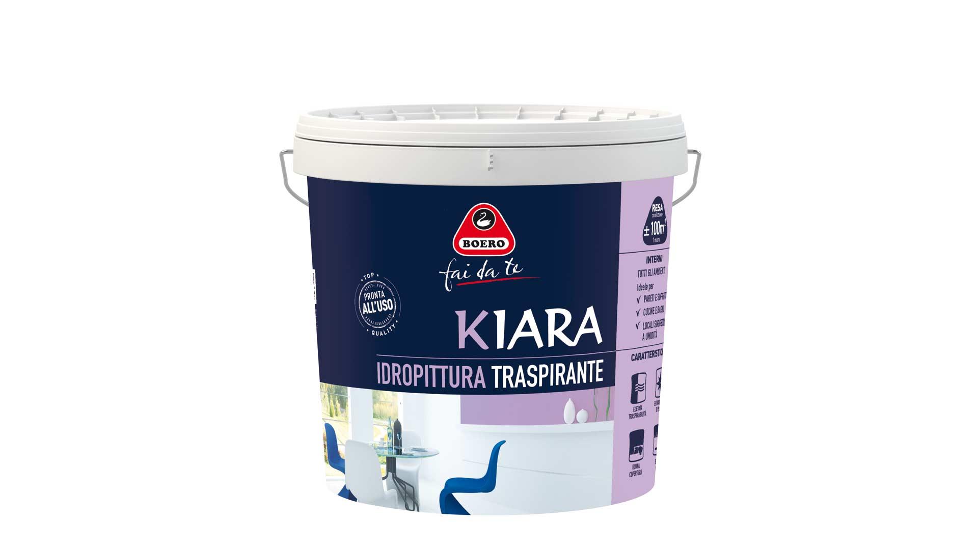 immagine in evidenza della pagina Idropittura traspirante Kiara 10 litri