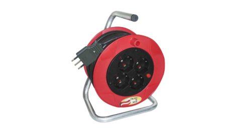 immagine del prodotto Avvolgicavo con 4 prese elettriche