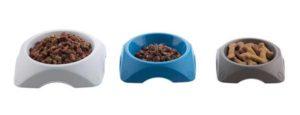 ciotola cibo per cani e gatti da 1,2 litri disponibile in tre colori