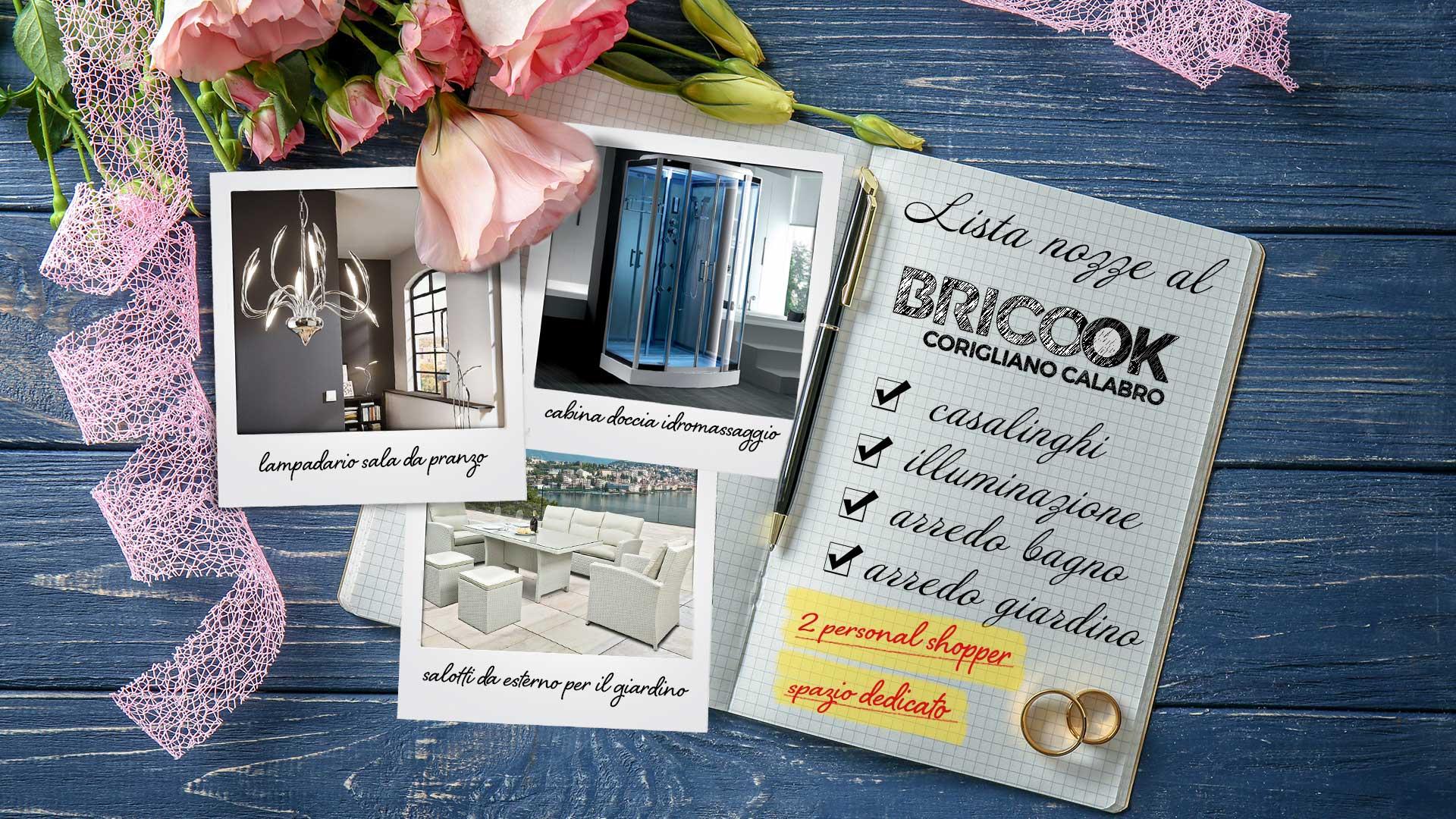 immagine in evidenza della pagina Lista nozze al Brico OK