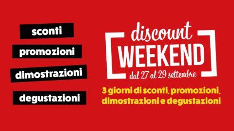 immagine in evidenza della pagina Discount weekend