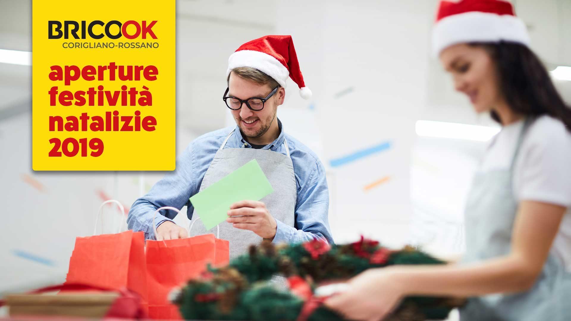 immagine in evidenza della pagina Aperture festività natalizie 2019