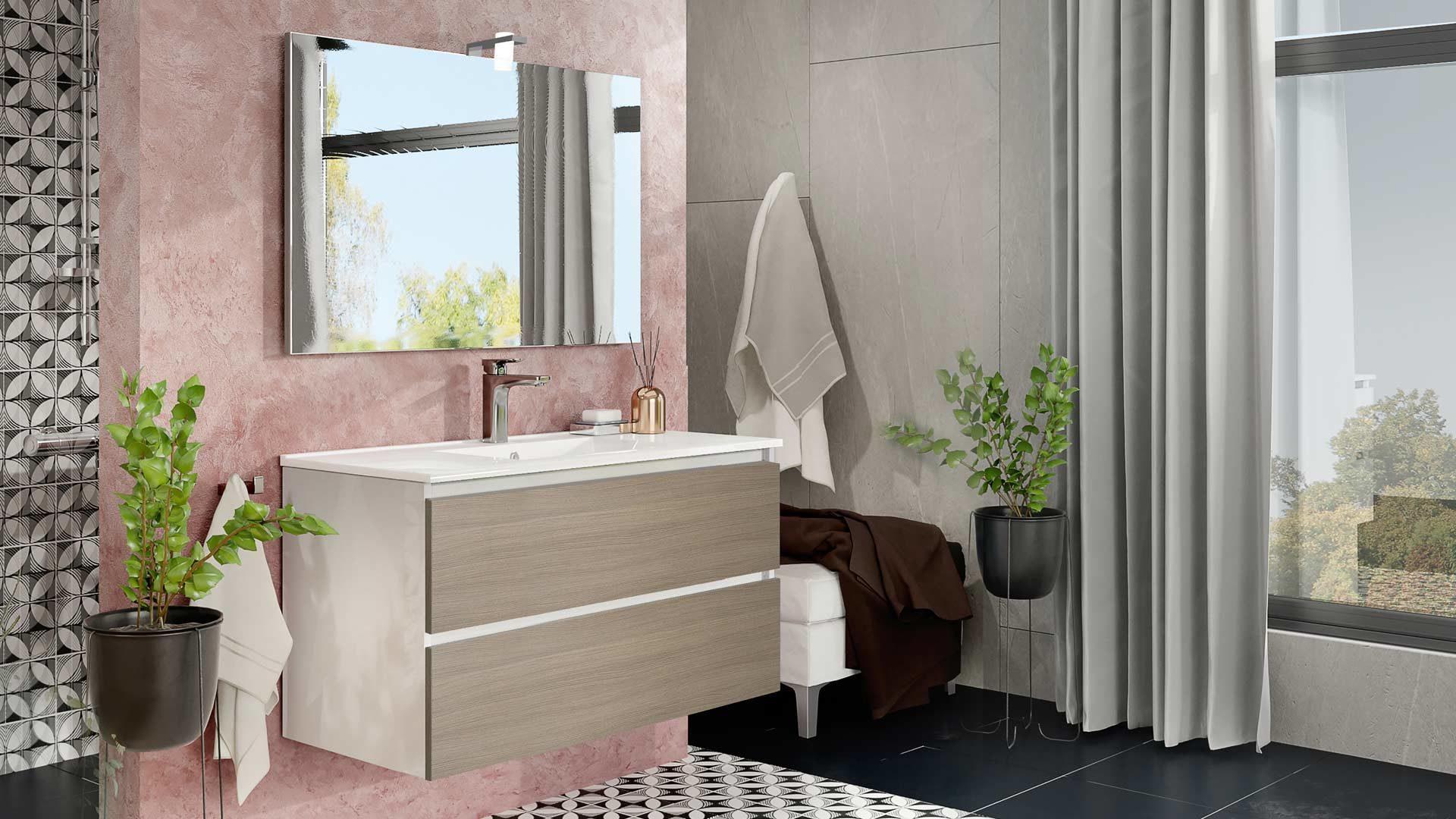 immagine in evidenza della pagina Composizione bagno Cube 100RF